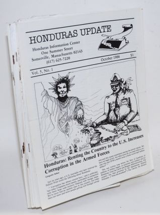 Honduras update. [48 issues]