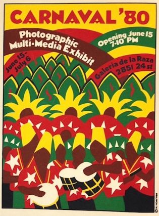 Carnaval '80. Photographic multi-media exhibit... [poster]. Nancy Hom, artist
