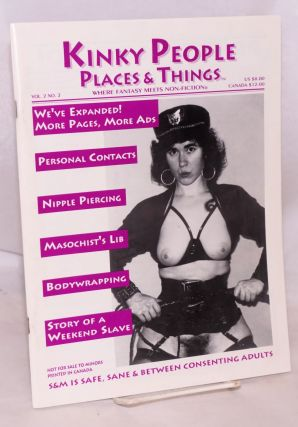 Kinky People Places & Things: where fantasy meets non-fiction, vol. 2, #2