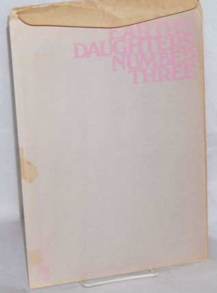 Earth's daughters #3; a feminist arts periodical