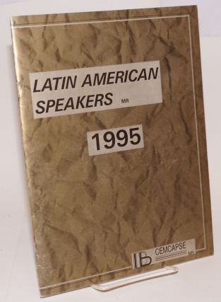 Latin American Speakers 1995