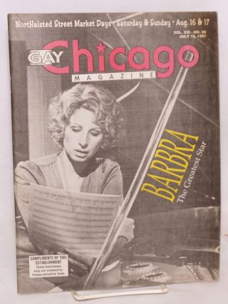 Gay Chicago Magazine: vol. 21, #28, July 10, 1997 Streisand cover