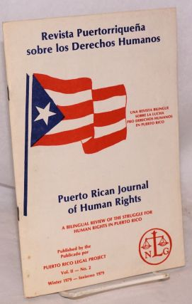 Revista Puertorriqueña sobre los Derechos Humanos / Puerto Rican Journal of Human Rights. Vol. 2...