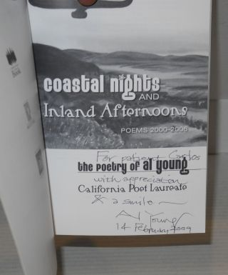 Coastal nights and inland afternoons: poems 2000-2006; the poetry of Al Young, California poet laureate