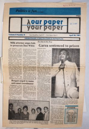 Our Paper, Your Paper; the gay family paper of the Santa Clara Valley; vol. 2, #8, April 20,...
