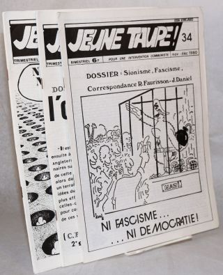 Jeune taupe! Pour une intervention communiste. [three issues