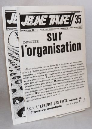 Jeune taupe! Pour une intervention communiste. [three issues]