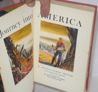 Journey into America; With Illustrations in Color by Lynd Ward