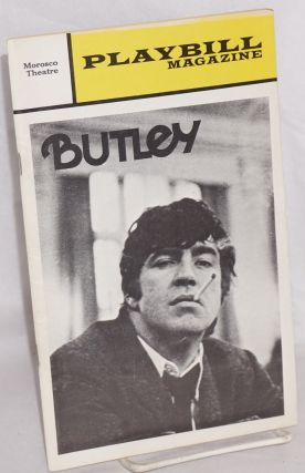 Butley two programs for the original UK and US productions