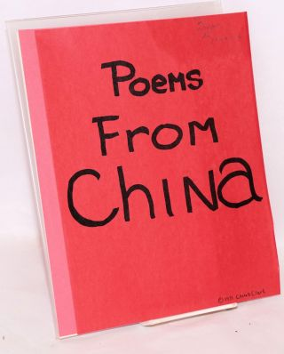 Poems from China