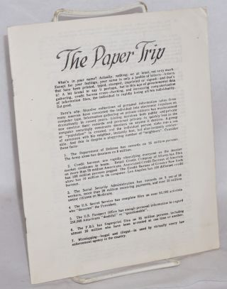 The paper trip