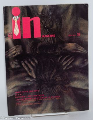 In Magazine: [cover title Mr. In Magazine] Vol. 1, no. 1. Jim Brothers, Robert Ingram