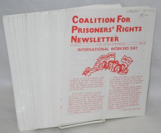 Coalition for Prisoners' rights newsletter: vol. 17, no. 5 - vol. 21, no. 7, May 1992 - July 1996...