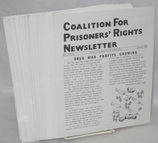 Coalition for Prisoners' rights newsletter: vol. 17, no. 5 - vol. 21, no. 7, May 1992 - July 1996 [broken run of 44 issues]