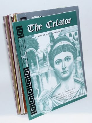 The Celator: journal of ancient and medieval coinage. Vol. 14, nos. 1-12 [full run for 2000]....