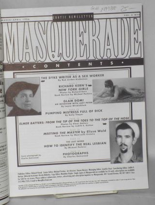 Masquerade: erotic newsletter vol. 5, #2, March/April 1996