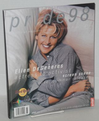 Pride 98: the official magazine for San Francisco Pride [Ellen Degeneres cover]. Deborah...