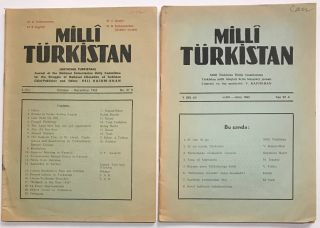Milli Türkistan [National Turkistan: journal of the National Turkestanian Unity Committee for...