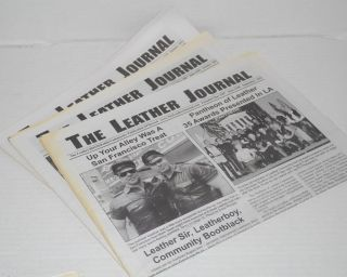 The leather journal: the leather community publication of record; [broken run of 11 issues from Oct. 2006 - Jan. 2012]