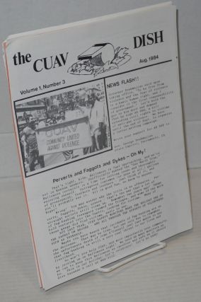 The CUAV Dish: a newsletter for the friends of Community United Against Violence; vol. 1 #3 -...