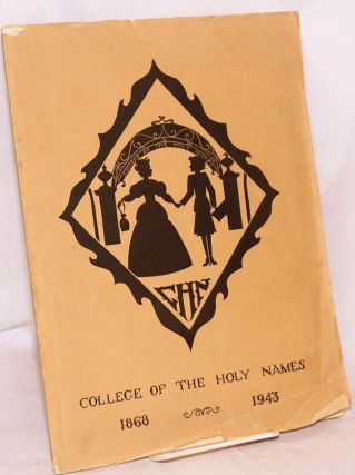 College of the Holy Names Yearbook Volume V