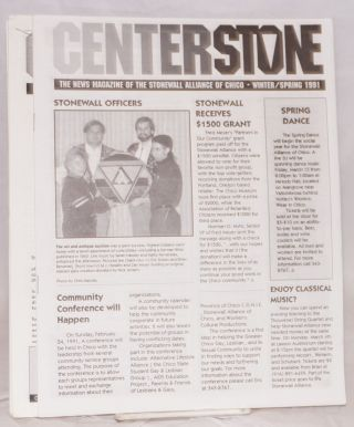 Centerstone: the news magazine of the Stonewall Alliance of Chico; [five issue broken run