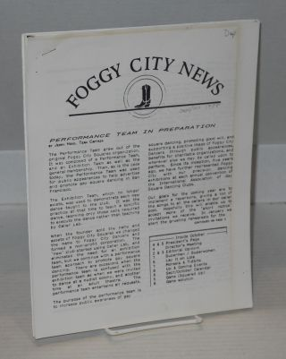 Foggy City News: September 1988 to July 1991 [five issue broken run]. Marc Randall, Mike Staples