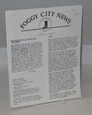 Foggy City news: September 1988 to July 1991 [five issue broken run]