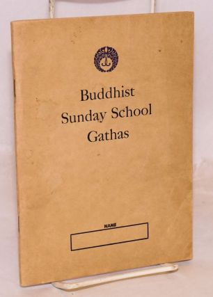Buddhist Sunday School Gathas