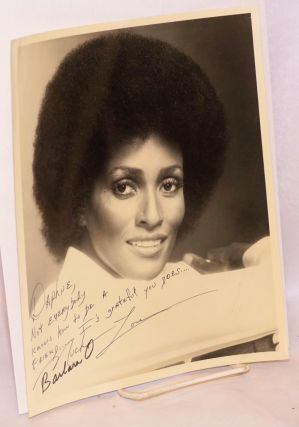 [Signed and inscribed photo of the actress]