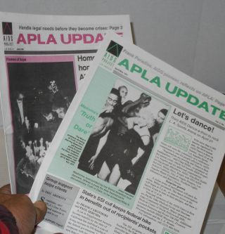 APLA update: vol. 2, #2 & 4, vol. 3, #1, 3-5, June 1990 - June 1991 [Six issue broken run]