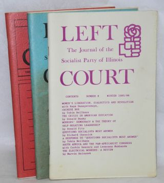 Left court: the journal of the Socialist Party of Illinois. [Nos. 8, 9 and 10
