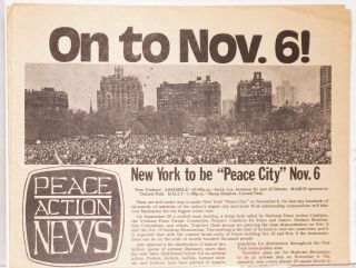 Peace Action News. No. 1 (October 13, 1971