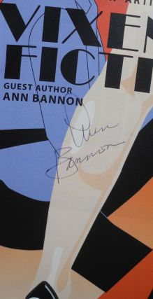 Vixen fiction: lurid tales leap from the page to the stage; guest author Ann Bannon (signed playbill/program)