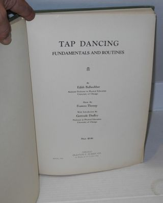 Tap dancing fundamentals and routines