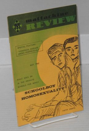 Mattachine Review: vol. 6, #5, May, 1960; Veneral disease among homosexuals. Hal Call, Heather...