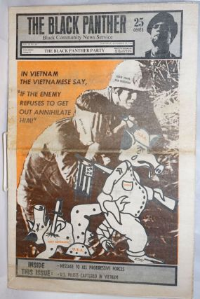 The Black Panther black community news service vol. III, no. 29, Saturday, November 15, 1969