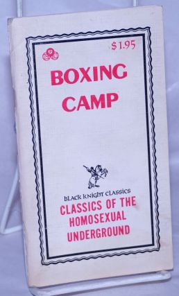 Boxing Camp. Anonymous