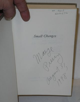 Small changes [signed]