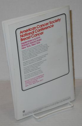 Ca- A Cancer Journal for Clinicians Vol. 29, #2, March/April 1979.