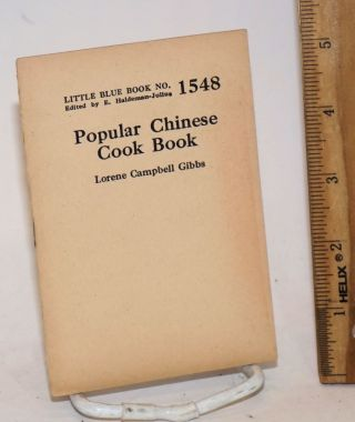 Popular Chinese cook book. Lorene Campbell Gibbs