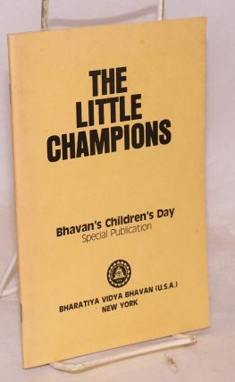 The little champions: Bhavan's Children's Day special publication