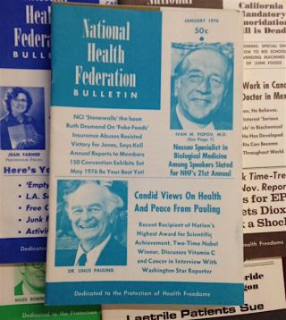 National Health Federation Bulletin [56 issues