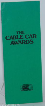 Cable Car Awards 1975 [program] Bimbo's Sunday, February 2, 1975