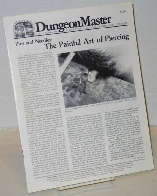 DungeonMaster: a newsletter of male S&M equipment and techniques # 7 November 1980; Pins &...