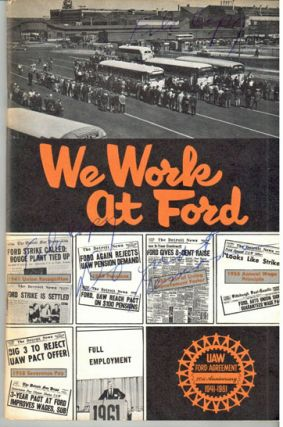 We work at Ford. First published 1955 -- revised May, 1961