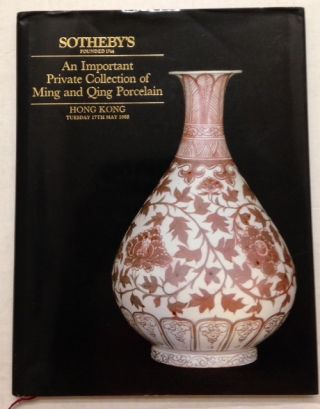 An important private collection of Ming and Qing porcelain