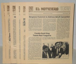 El noticiero: vol. 1, #2 - vol. 2, #3, 1980-1981 [six issue run