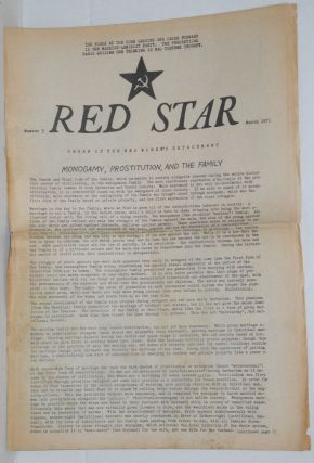 Red Star. Organ of the Red women's Detachment, no. 5, March, 1971. [Slogan on masthead:] The...