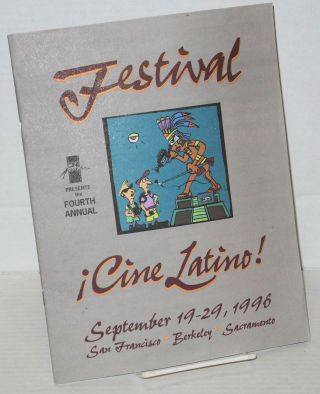 Cine Acción presents the fourth annual Festival ¡CineLatìno! [program] September 19-29, 1996,...